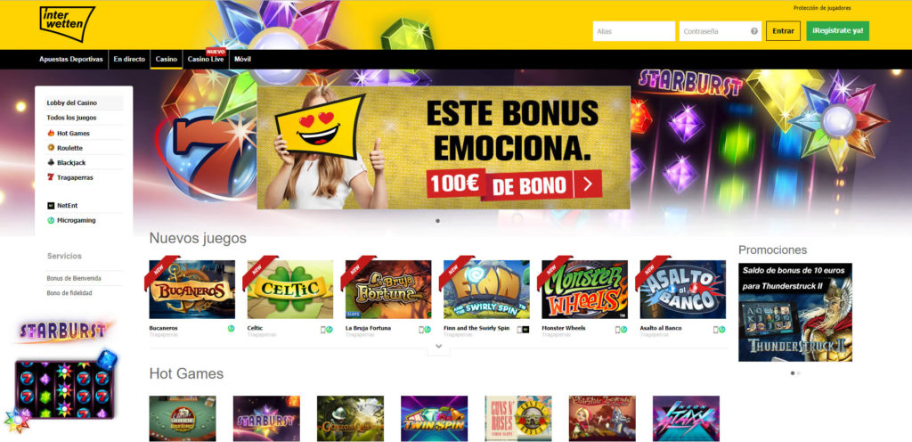 Interwetten Casino ES