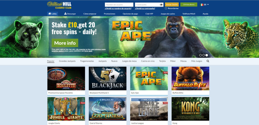 William Hill Casino ES